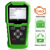 Obdstar BMT 08 BMT-08 12V/24V Automotive Battery Tester and Battery Matching Tool OBD2 Battery Configuration
