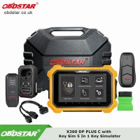 [Ship from UK/EU] OBDSTAR X300 DP PLUS C Package Full Version With OBDSTAR Key Sim 5 In 1 Key Simulator