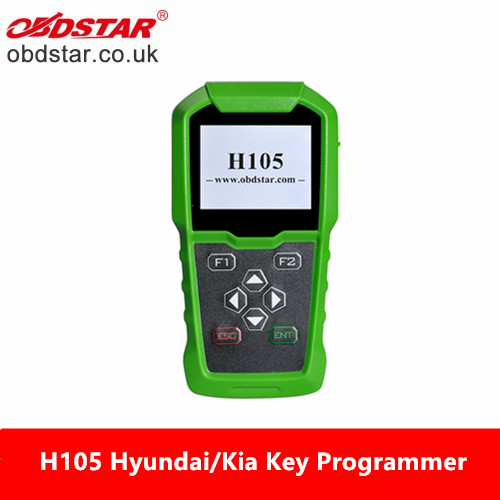 OBDSTAR H105 H-105 Hyundai/Kia Key Programmer Support Pin Code Reading and Cluster Calibrate